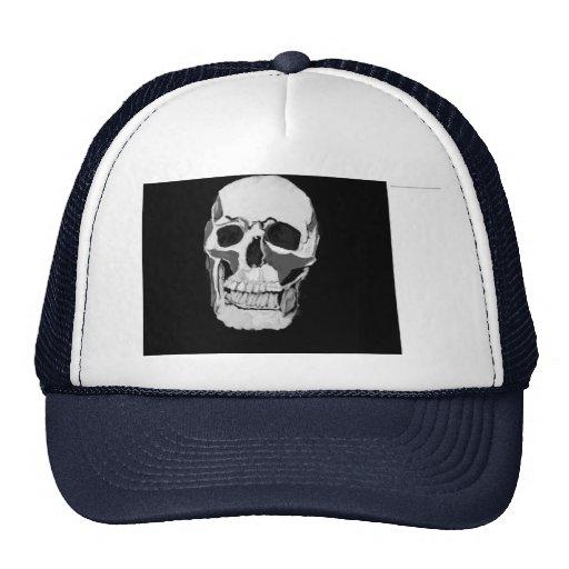 gorras y casquillos con diseño del cráneo