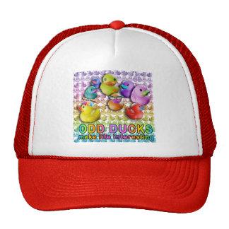 Gorras y casquillos impares de los patos