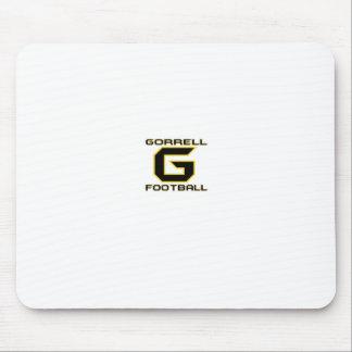 Gorrell Gorrillas Football Mouse Pad