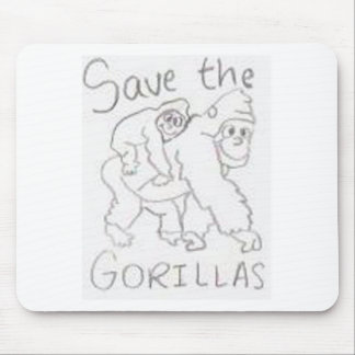 gorrilla mouse pad