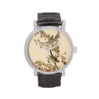 Gorrión de árbol relojes de mano