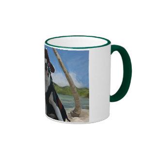 Gorrión del enchufe del capitán tazas de café