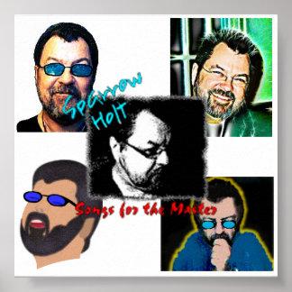"""Gorrión Holt """"canciones para"""" el poster principal"""