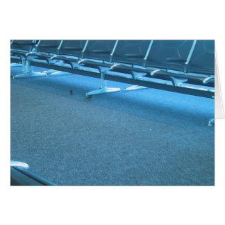 Gorriones en el aeropuerto internacional de Denver Tarjeta De Felicitación