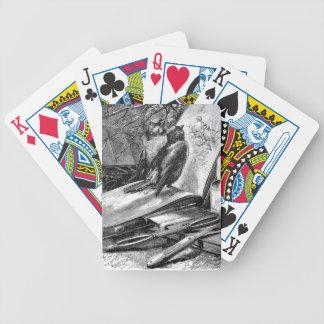 Gorriones en Sketchbook Baraja Cartas De Poker