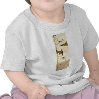 Gorriones japoneses no.1 camisetas