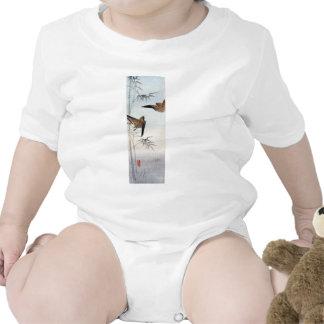 Gorriones japoneses no.2 traje de bebé