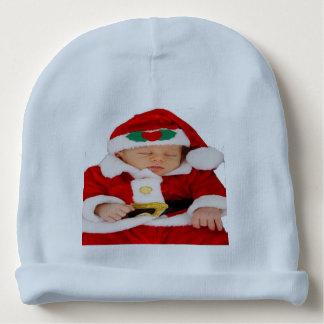 Gorrita tejida del algodón de Santa del bebé Gorrito Para Bebe