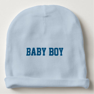 Gorrita tejida del bebé con nombre indicado con gorrito para bebe
