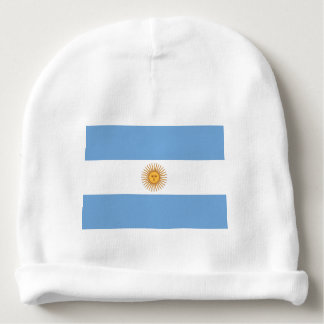 Gorrita tejida del bebé de la bandera de la gorrito para bebe