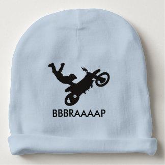 Gorrita tejida del bebé de la bici de la suciedad gorrito para bebe