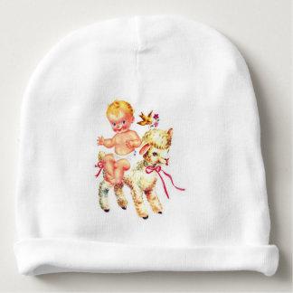 Gorrita tejida del bebé de la sensación del gorrito para bebe