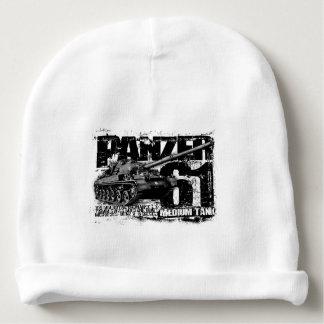 Gorrita tejida del bebé de Panzer 61 Template_WT Gorrito Para Bebe