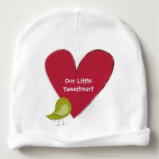 Gorrita tejida del bebé de Tweetheart Gorrito Para Bebe