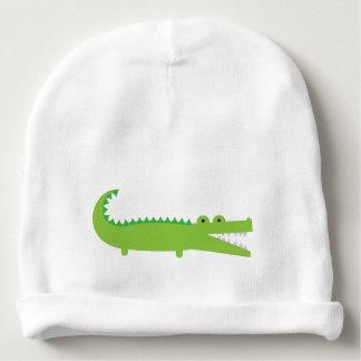 Gorrita tejida del bebé del cocodrilo gorrito para bebe