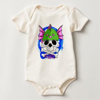 Gorrita tejida del cráneo de KGurl Seamonkey Mamelucos De Bebé