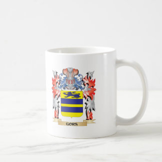 Gors Coat of Arms - Family Crest Coffee Mug