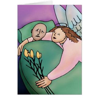 Gorse Flower Essence - Get Well Soon! Greeting Card