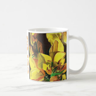 Gorse in Oil Mug