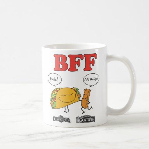 Gorton y taza de Ortega BFF