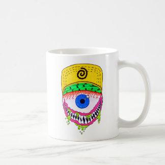Gory eyeball graphic mug