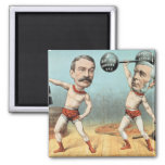 Goschen and Ritchie, the Champion Weight 2 Inch Square Magnet