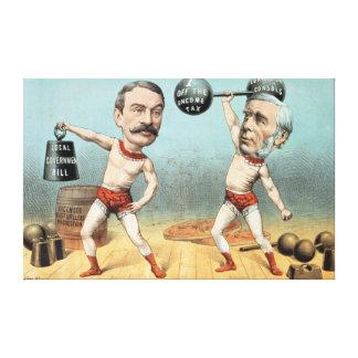 Goschen y Ritchie, el peso del campeón Impresiones En Lienzo Estiradas