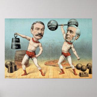 Goschen y Ritchie, el peso del campeón Impresiones