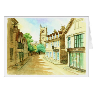Gosditch  Street Cirencester Greeting Card