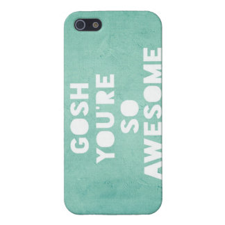 Gosh,Awesome iPhone Case iPhone 5 Case