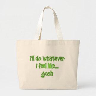 Gosh Canvas Bags