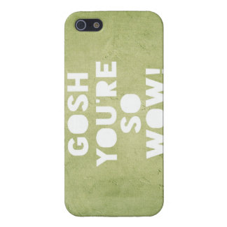 Gosh,Wow! iPhone Case iPhone 5 Cover