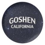 Goshen California Plato De Cena