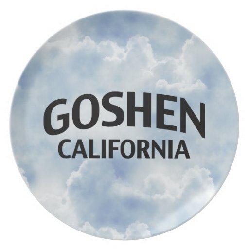 Goshen California Plato De Comida