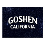 Goshen California Postales