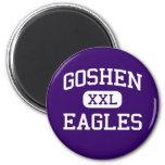 Goshen - Eagles - High School secundaria - Goshen  Imán De Nevera