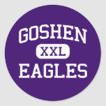 Goshen - Eagles - High School secundaria - Goshen Etiquetas Redondas