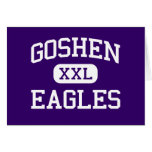 Goshen - Eagles - High School secundaria - Goshen  Tarjetón