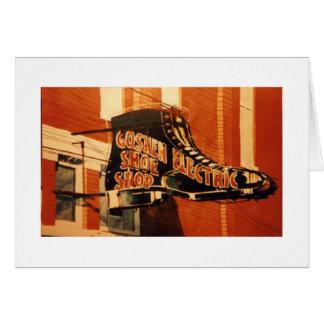 Goshen Electric Shoe Shop - One Card