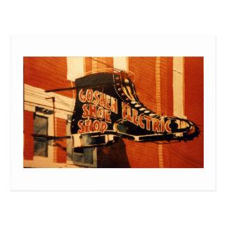 Goshen Electric Shoe Shop - One Postcard