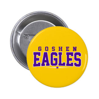 Goshen High School Eagles Pinback Buttons
