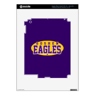 Goshen High School; Eagles iPad 3 Decal