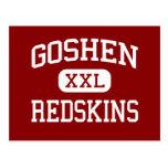 Goshen - pieles rojas - High School secundaria - Postal