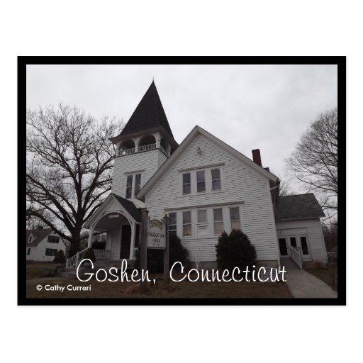 Goshen, postal de Connecticut