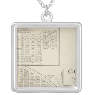 Goshen, Tulare County Silver Plated Necklace