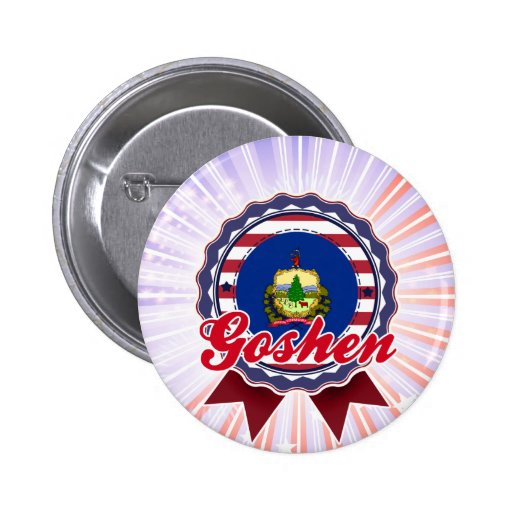 Goshen, VT Pin