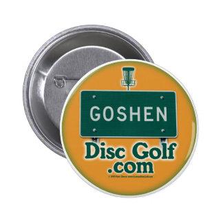 GoshenDiscGolf.com Pin Redondo 5 Cm