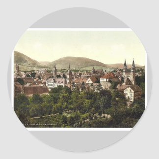 Goslar and Georgenberg, Hartz, Germany classic Pho Stickers