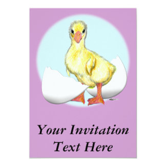 Gosling:  Just Hatched Card