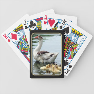 Goslings Photo Art Playing Cards